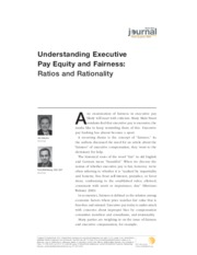 Understanding Executive Pay(1)