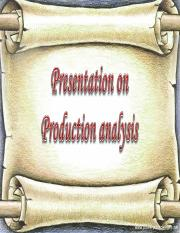 Reports on Production analysis.pptx