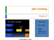 Chapter 4 - Cost Accounting - JKBaker