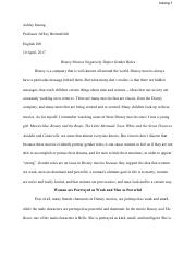Eng 200 media essay on DisneyFinal .pdf