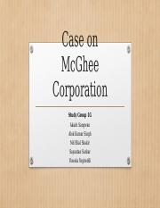 McGhee Case_Group 1G.pptx