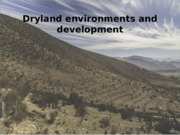 IDSB02-Lecture 7-Drylands