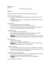 LN1 Business Ethics and Law.docx