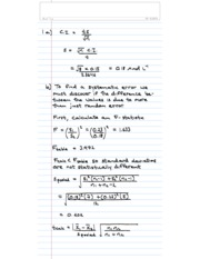 CHEM 2030 Term Test 1 Solutions F13
