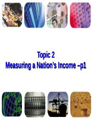 ECON2-Measuring National income -p1
