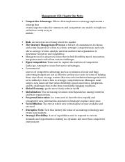 Management 450 - Chapter 1.docx