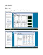 Angela Middlebrook_Maintaining and Optimizing Windows 7_ Systems Lab and Study Guide.docx