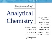 Analytical chemistry chapter 2 (old)