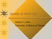 NEW - Quality of Work -OB Review
