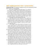 ACT reading practice test 5 bak pdf - ACT reading practice test 5