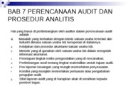 Bab 7 PERENC AUDIT