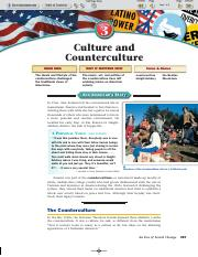 Ch 31_3 Culture and Counterculture