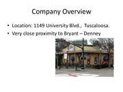 Company Overview Presentation