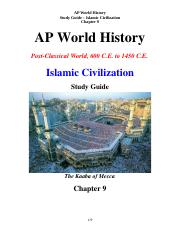SG-Islamic Civilization Stayer Ch 9.docx