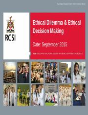 N403A.11 Ethical Dilemma  Decision Making.pptx