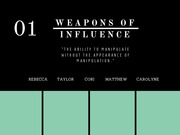 WEAPONS OF INFLUENCE-2-chp1