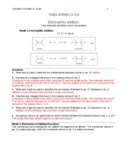 CHEM301 F08 CA11 key