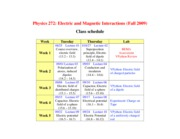 Phys272_Schedule_Fall2009