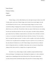 Synthesis Essay - Climate Change & Protest.docx