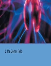 ElectricField - Summary