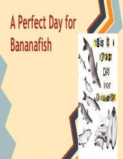 a great day for bananafish