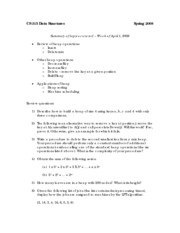 Summary & Review Questions Chapter 9