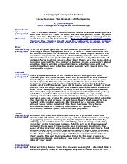 5paragraph essay outline The introductory paragraph should also include the thesis statement, a kind of mini-outline for the paper: it tells the reader what the essay is about.