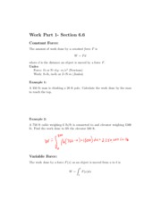 6.6 Notes (Work Part 1)