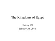 KingdomsEgypt2010