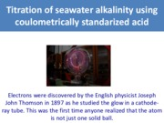 7. Coulometry and Alkalinity