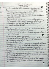 Class Notes - Theories of Underdevelopment