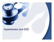Hypertension and CKD