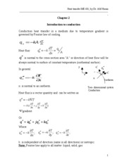 Heat transfer Chapter 2