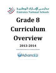 G8-Curriculum-Overview