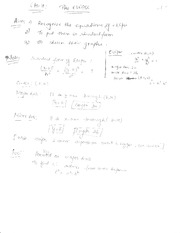 The ellipse notes