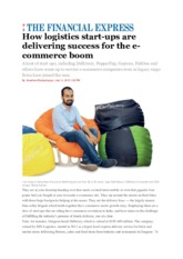 Logistics start-ups financial express