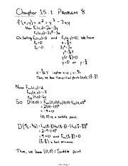 Chapter 15.1 Problem 8