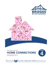 br4-hckey.pdf - SECOND EDITION HOME CONNECTIONS ANSWER KEY ...