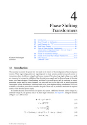 Chapter 4. Phase-Shifting Transformers