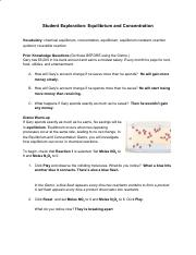 Gizmo Equilibrium Concentration Student Lab Sheet.doc ...