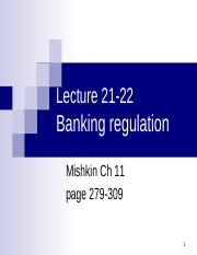 Banking Lecture 21-22.ppt