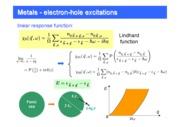 metal-excitations