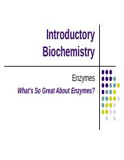Enzymes Students 2014 Fall