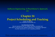Ch24 Project Scheduling and Tracking