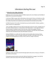 Literature during the war.docx