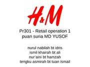 Pr301 - Retail operation 1