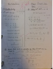 Pre-Calculus 12 Exponentials quiz-notes
