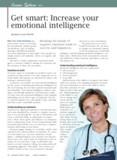 Read 3 L3 Increase Your emotional Intelligence