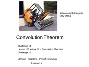 Lesson 15 - Convolution Theorem