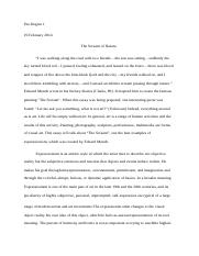Thesis For Essay  Pages The Scram Of Nature Thesis Statement Narrative Essay also English Essays For Students Comm Compare  Contrast Essayhigh School Vs College  High  Thesis For Persuasive Essay